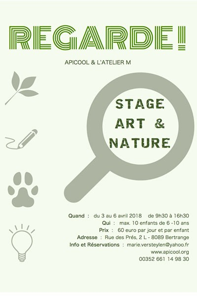 Stage Art et Nature