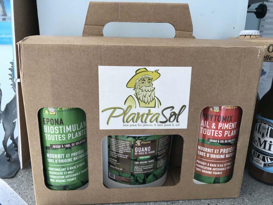 Coffret de produits Plantasol - Mr Organics