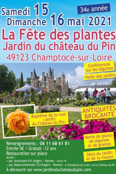 Fête des Plantes dans les Jardins du Château du Pin