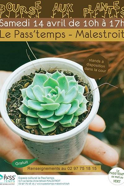 Bourse aux plantes de Malestroit