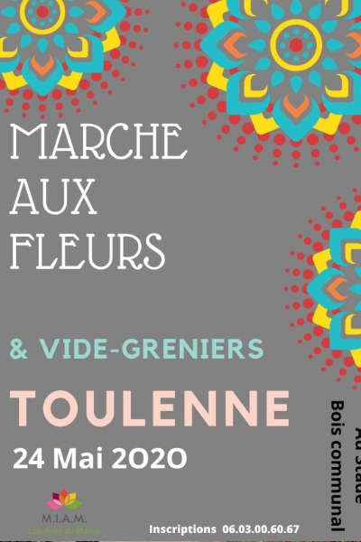 Marché aux fleurs et aux plantes de Toulenne