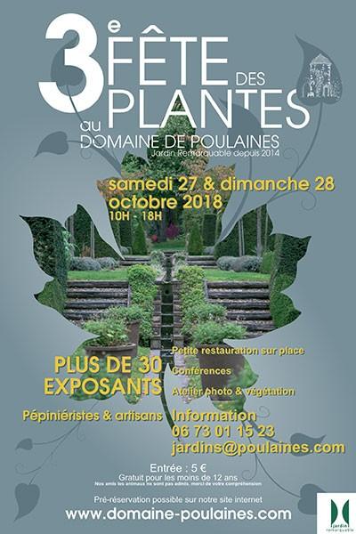 Fête des Plantes au Domaine de Poulaines
