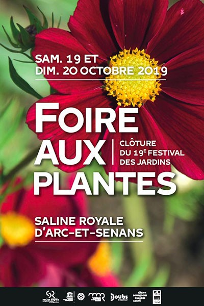 Foire aux plantes de la Saline royale d'Arc-et-Senans