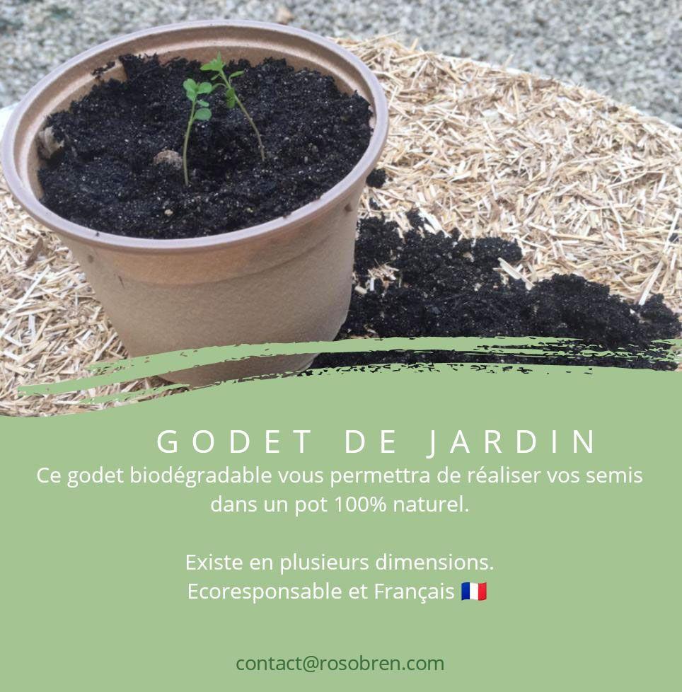 Godet de jardin Rosobren