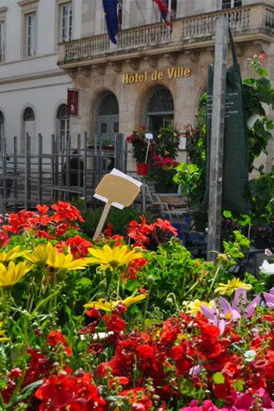 Marché aux fleurs de Chalon-sur-Saône