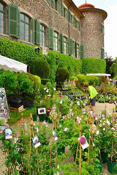 Fête des Plantes au Château de Chavaniac Lafayette