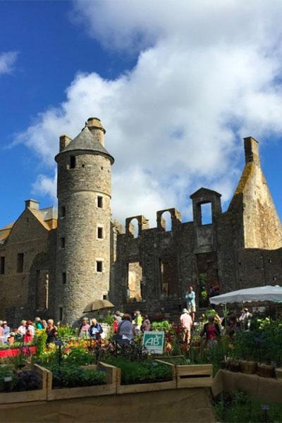 A propos de Jardin au Château de Gratot