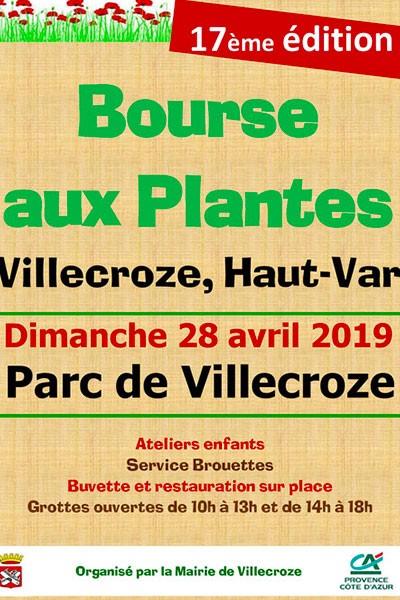 Bourse aux plantes de Villecroze