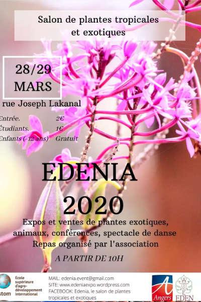 Edenia, le salon des plantes tropicales et exotiques