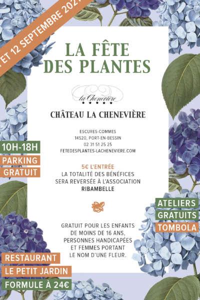 Fête des Plantes au Château la Chenevière