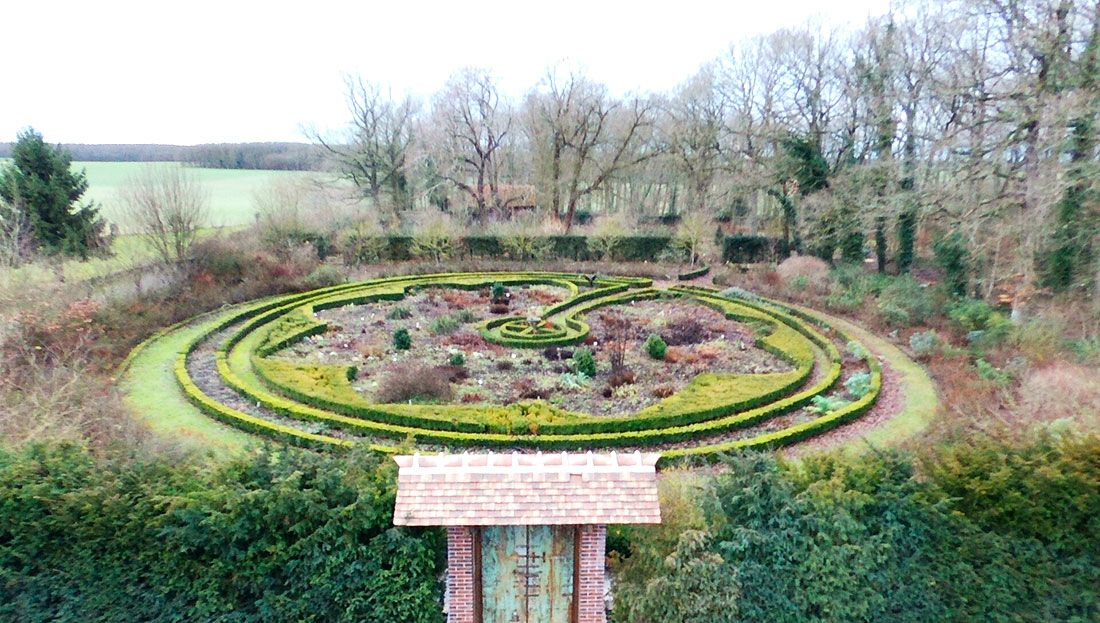 Le jardin symbolique de la pépinière Or-k-idée