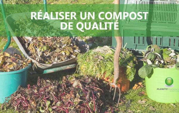 Conseils pour réaliser facilement un compost de qualité