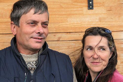 Thierry et Isabelle de la Pépinière Iris 26