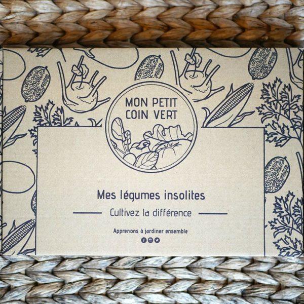 Kit jardinage Légumes insolites