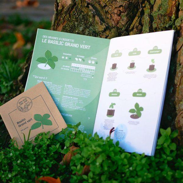 Guide du kit de jardinage Mes petits aromates