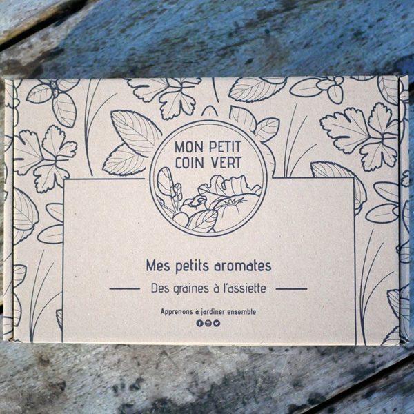 Kit jardinage Mes petits aromates