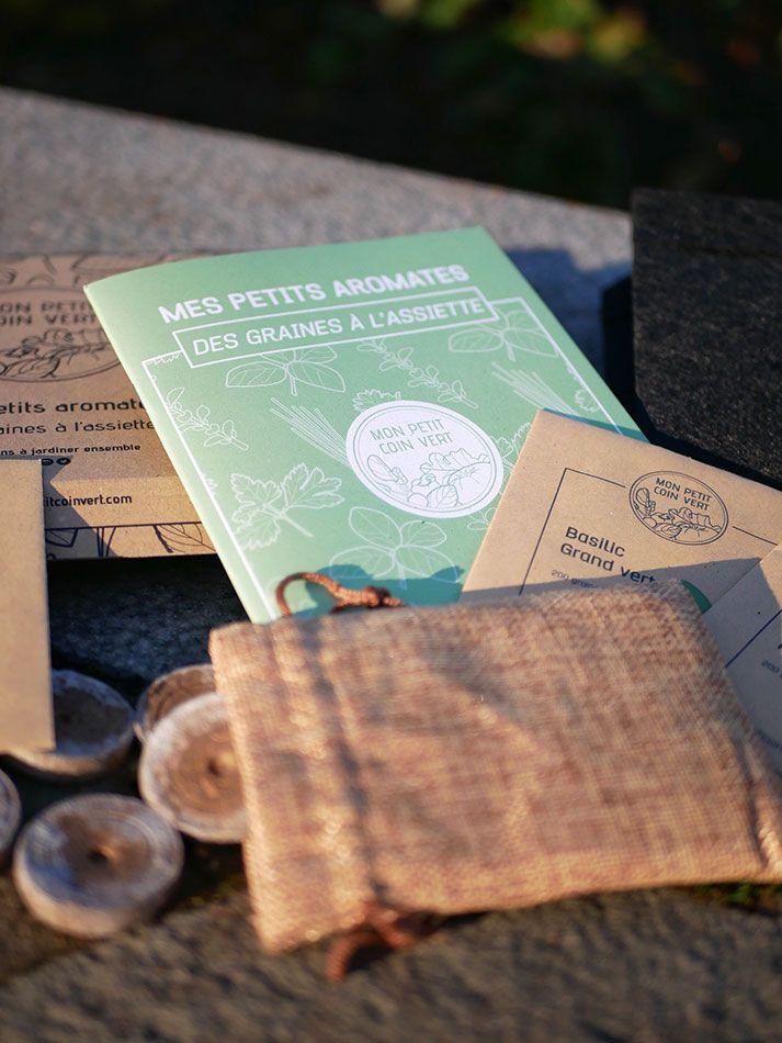 Kit jardinage Petits aromates