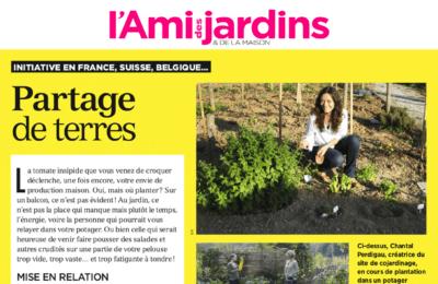 L'Ami des Jardins - Partage de terres