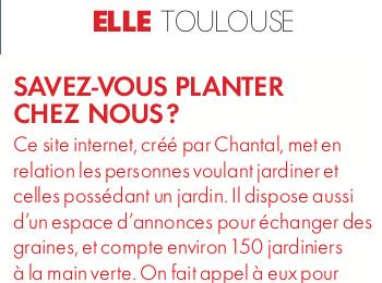 ELLE Toulouse - Je veux du vert !