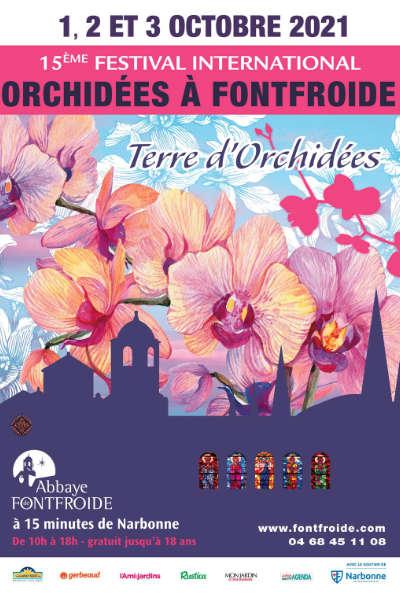 Festival International d'orchidées à Fontfroide