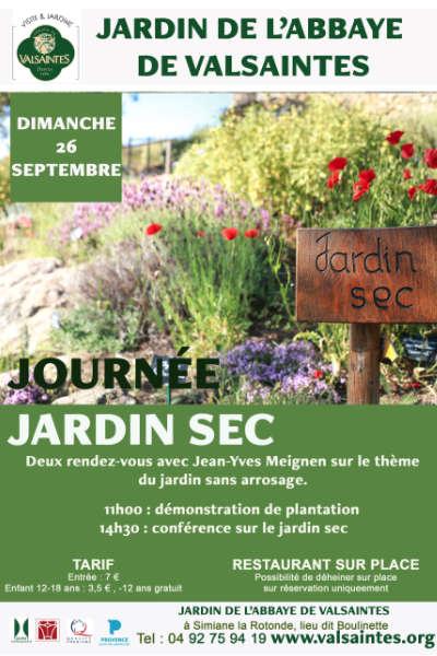 Journée Jardin sec à l'Abbaye de Valsaintes