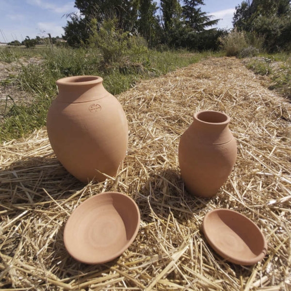 Ollas, poterie d'irrigation