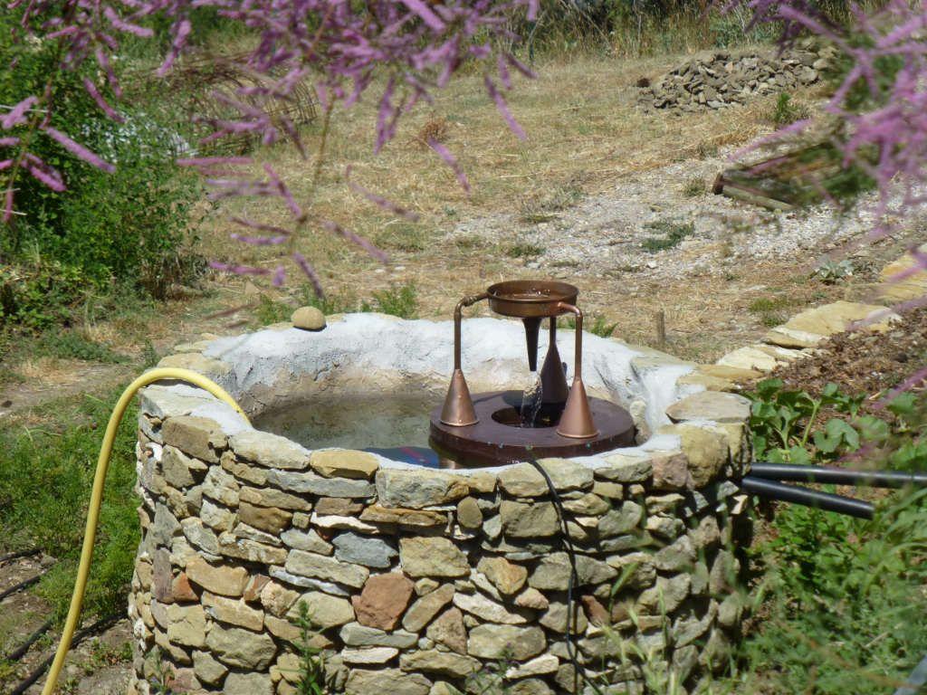 Dynamisation de l'eau de pluie