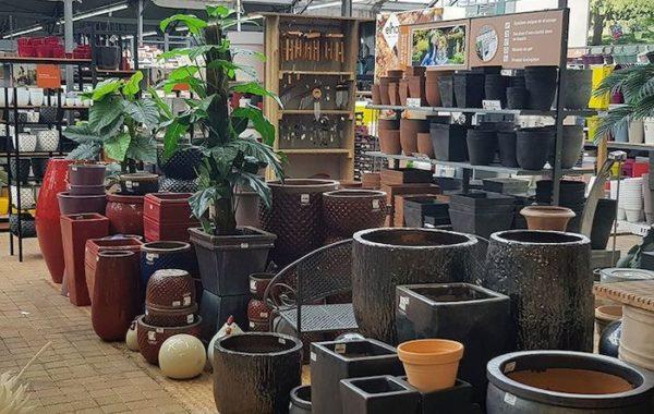 Espace décoration de la jardinerie Jardiplus