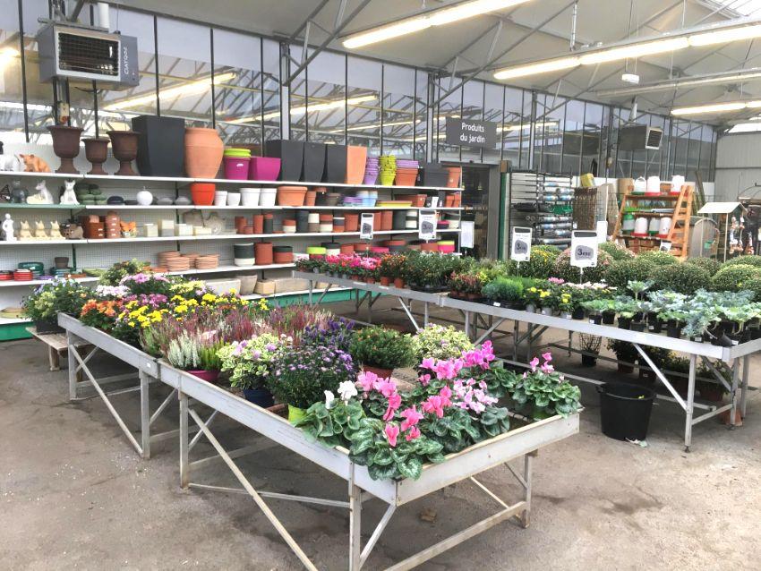 La jardinerie Les Jardins de Clamecy