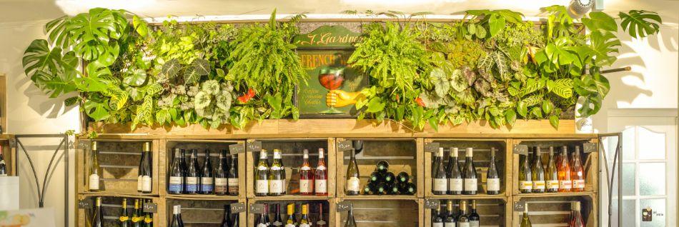 Le mur végétal français