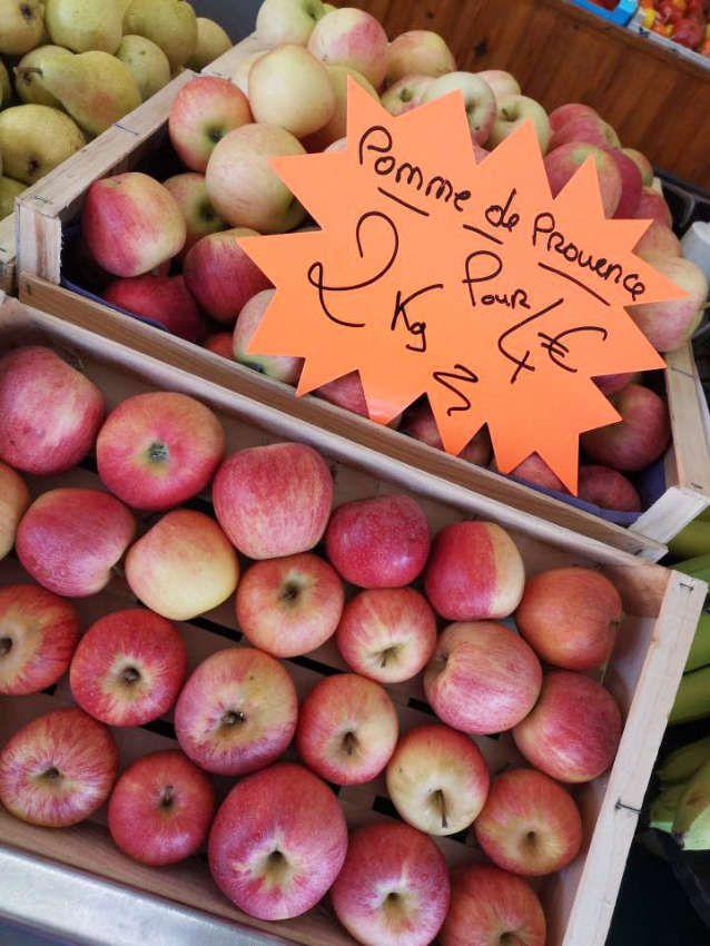Pommes de producteur