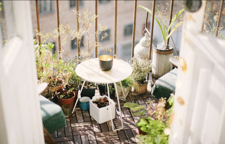 Amenagement de balcon