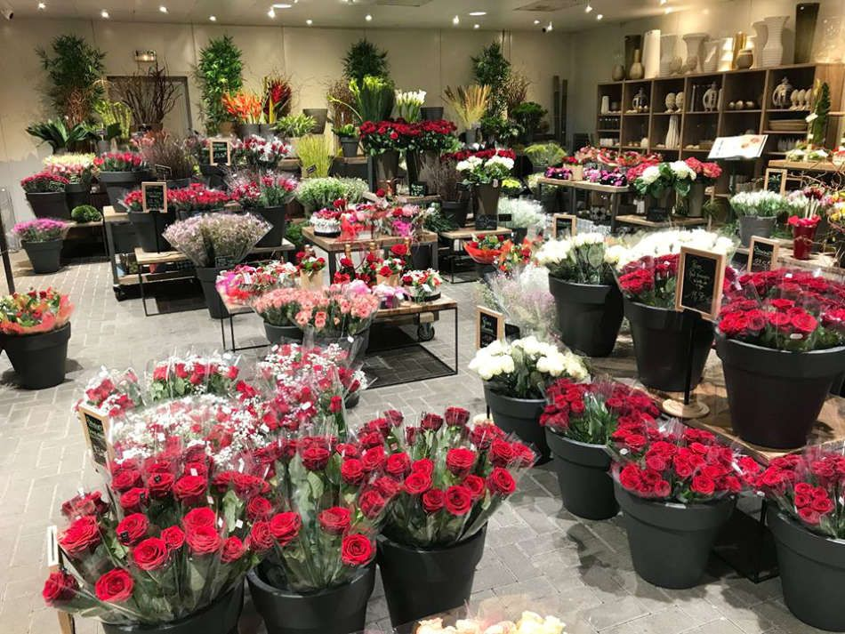 La fleuristerie de la Jardinerie Florest