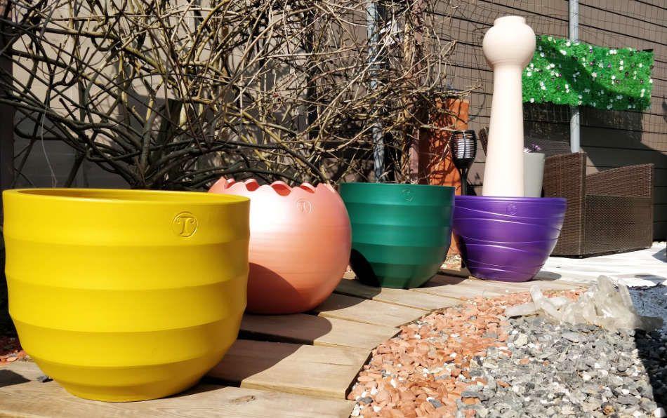 Les pots colorés de Mon Pot Déco