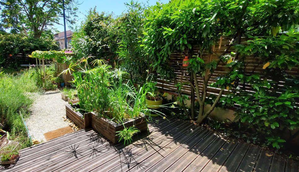 Aménagement de terrasse Les Jardins Bienveillants