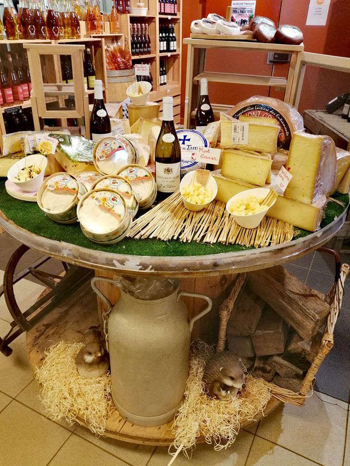 Fromages et crémerie de Socali