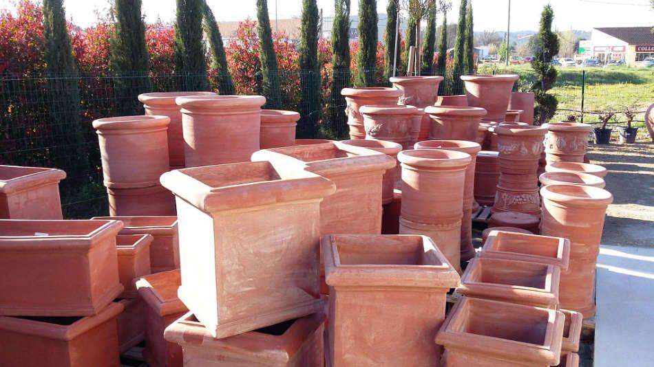 Les poteries en terre cuite