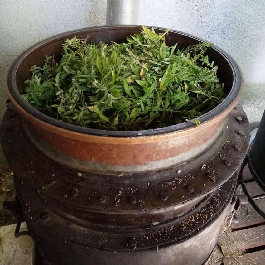 Préparation pour distillation