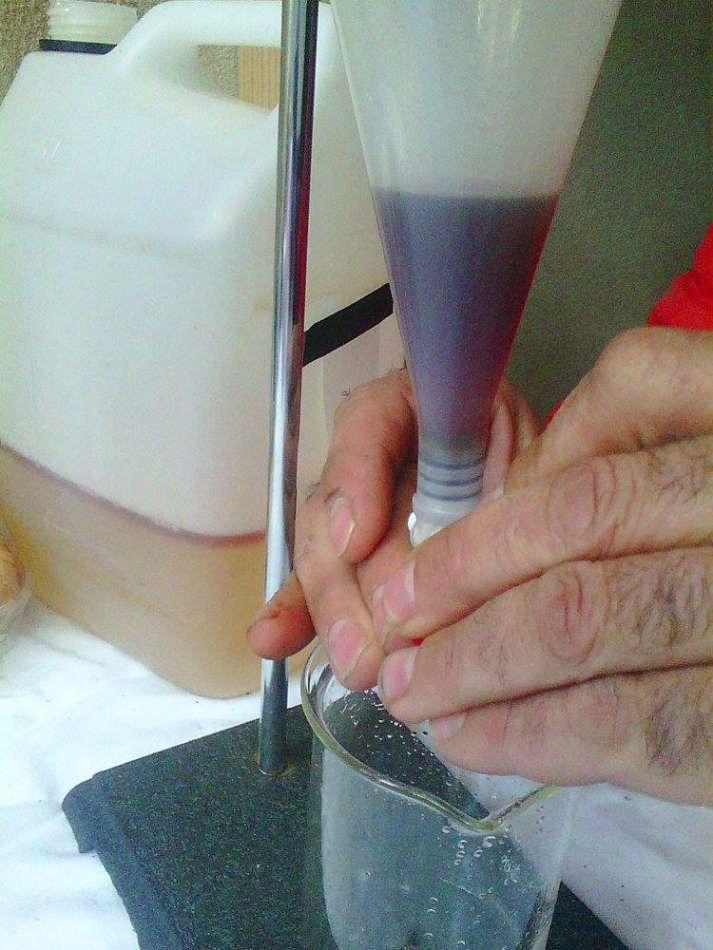 Récupération des huiles essentielles