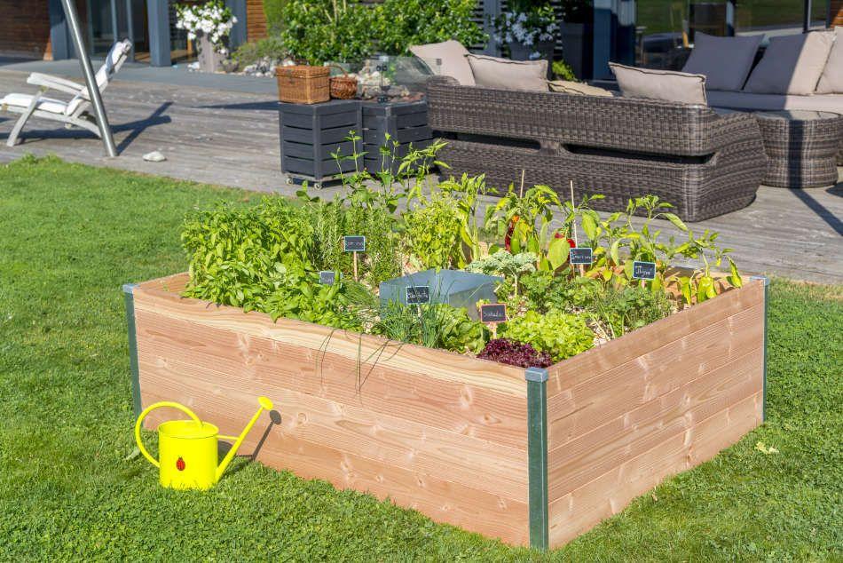 Le Keyhole garden modèle moyen