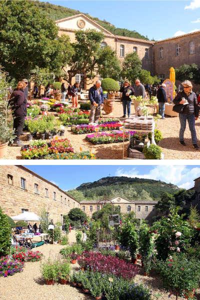 Fête des plantes de l'Abbaye de Fontfroide