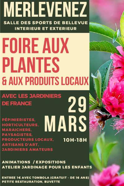 Foire aux plantes et aux produits locaux de Merlevenez