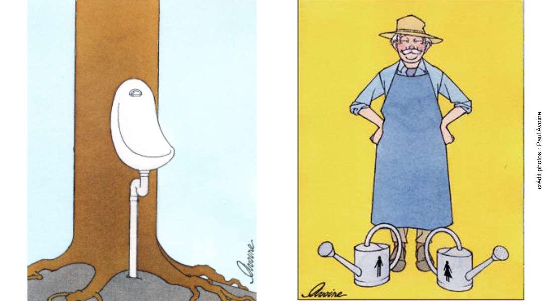Utiliser l'urine au jardin : explications de Renaud de Looze