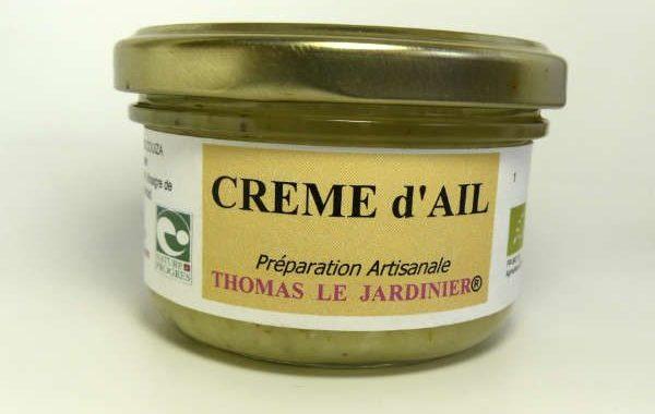 Crème d'ail bio