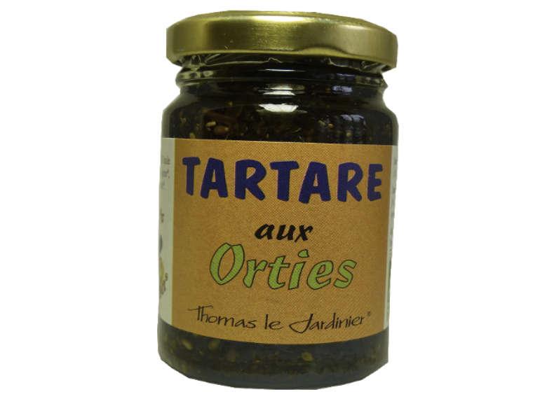 Tartare aux orties bio