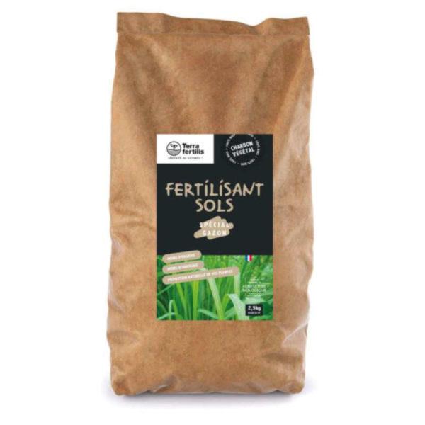 Fertilisant sol spécial gazon