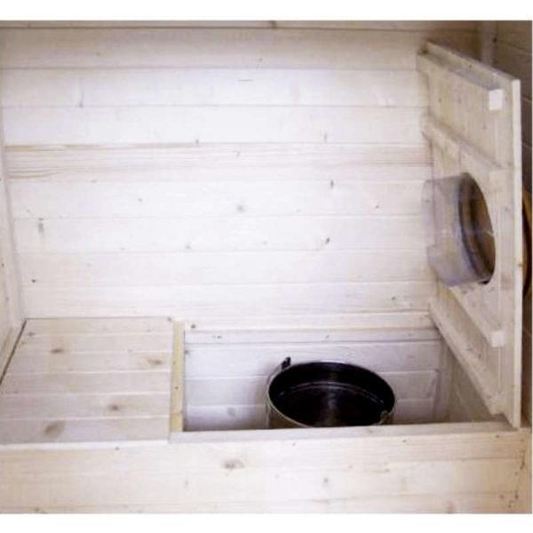 Abri toilettes sèches