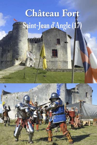 Ambiance Médiévale au Château Fort de Saint Jean d'Angle