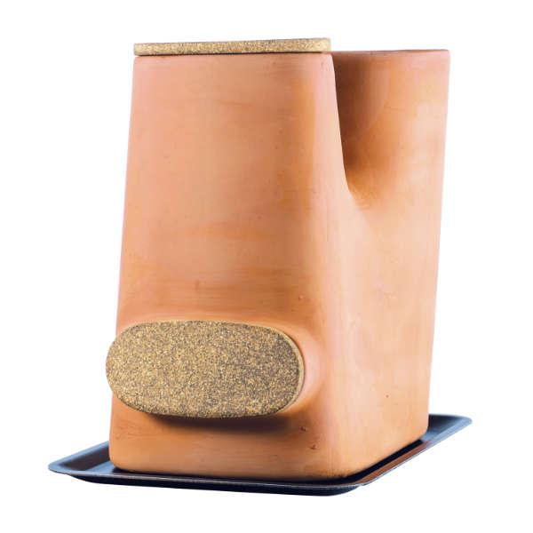 Le pot de fleurs composteur sans vers