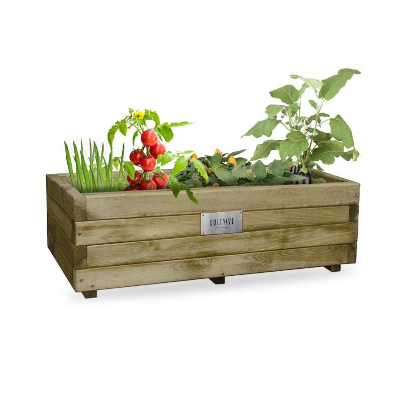 Bac potager en bois Cultiive
